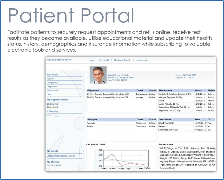 CureMD Patient Portal