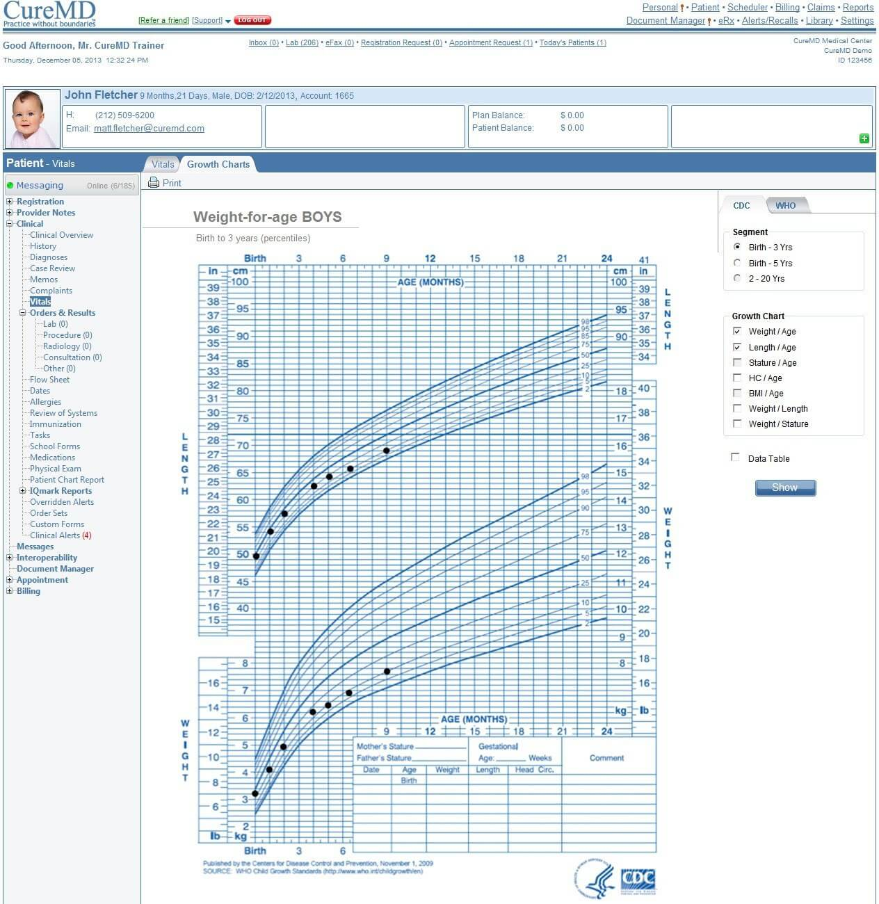 CureMD Practice Management & Electronic Health Records