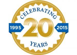 20th Anniversary Emblem 350x250
