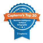 Featured in Capterra's Top 20